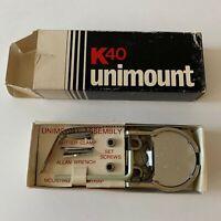 American Antenna K40 Unimount Mirror Mount for CB Radio Antenna Made USA New