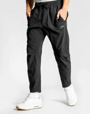 Nike Woven Track Pants Soccer Football Gym Training Sport Run Jog Black XL New