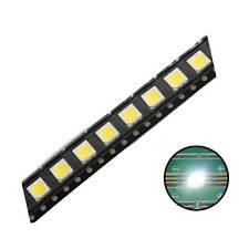 500pcs 5050(2020) SMD LED Diode Lights White Super Bright Lighting Bulb
