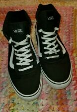 Women's Vans Old Skool Black Skateboarding Shoes Classic Canvas CLEAN!!