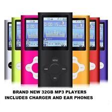 MP3 Player  Music Media 32GB 4TH GEN RADIO VIDEO FM 1.8 LCD SCREEN
