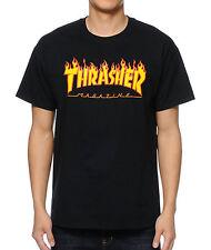 Thrasher Flame Logo Skate Mag T-Shirt