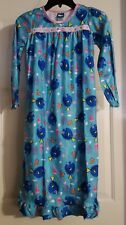 New Girls 1 Pc Disney Finding Dory Nemo Long Sleeve Nightgown Pajama Gown Size 8