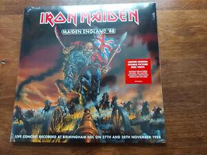 IRON MAIDEN MAIDEN ENGLAND '88 LP X 2  PICTURE DISC
