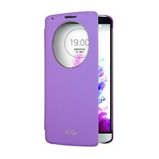 LG G3 Quick Circle Slim Cover Snap-On Folio Case Smart Window New Original