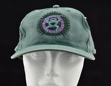 Hawaii Trucker Cap Hat Adjustable Wet Hot Surf Sun Fun Green