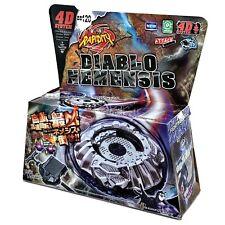 Beyblade Proto / Diablo Nemesis Metal Fusion 4D System Set BB120 + Launcher USA