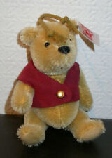 STEIFF #680113 Winnie Pooh Teddy Ornament 11 cm