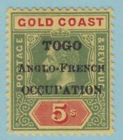 Togo 89 Mint Hinged OG * - NO FAULTS VERY FINE !