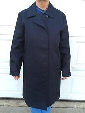 OLD NAVY Ladies Trench Coat Full Jacket Lightweight Classic Navy Blue Medium