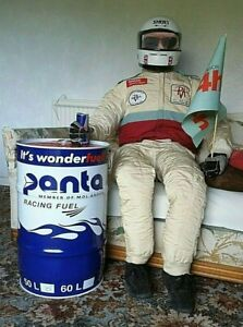 Panta Race Fuel Can ONLY Man cave or garage Stool Table Awning Anchor 60 Liter.