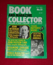 BOOK AND MAGAZINE COLLECTOR NO.15 MAY 1985