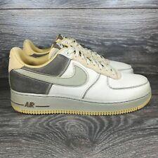 Nike Air Force 1 Low '07 Premium Tan Beige Sneakers (CI1116-700) Men's 9 SAMPLE
