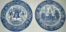 Vintage Avon Liberty Bell Independence Hall Collector Plates 1976