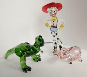 Swarovski Disney Toy Story Jessie 54922686 Rex 54922734 Ham 5489727 Neu New MiB