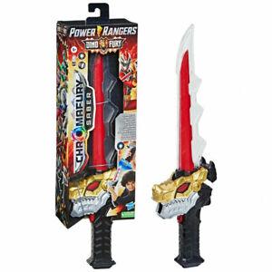 Power Rangers Dino Fury Chromafury Saber Electronic Colour Scanning Toy Sword