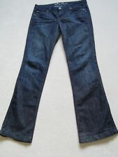 JUICY COUTURE Denim Scuro babybell St. Helens Boot Cut Jeans jgmu 1915-Taglia 29