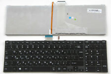 Keyboard Hebrew English for Toshiba Satellite P850D P855 P855D P870 P875 Backlit