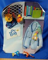 2001 The Book of Pooh Disney Winnie VHS McDonald's Happy Meal Store Display Toys