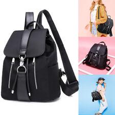 Women's Girl Leather Backpack Schoolbags Handbag Shoulder Bag Satchel Rucksack