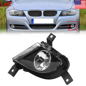 Front Left Fog Light Cover For BMW 3 Series 328i 335d 335i E90 Foglamp 2009-2011