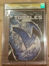 TEENAGE MUTANT NINJA TURTLES #2 SS CGC 9.6 AUTO & SKETCH KEVIN EASTMAN 2ND PRINT