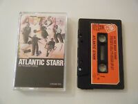 ATLANTIC STARR AS THE BAND TURNS CASSETTE TAPE 1985 RED PAPER LABEL A&M UK
