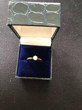 Diamond Solitaire Engagement Ring - 0.25ct Quarter Carat 1/2 9ct Gold