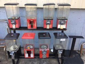BARGAIN!  Northwestern Super 60 A&A Gumball Candy Gum Peanut Toy Vending Machine
