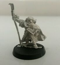 games workshop  Lord of the rings metal floi stonehand dwarf loremaster