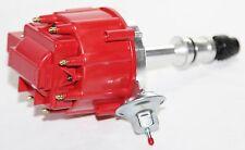 HEI Distributor RED Cap for 68-76 Oldsmobile Rocket V8 455 Engine w/ Vacuum