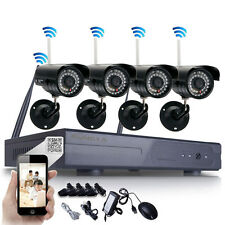 Wireless 8CH NVR 720P Wifi IP CCTV Surveillance Security Camera System Day Night