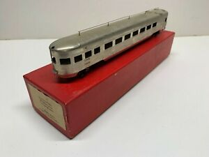 SOHO Plated HO Brass SP Southern Pacific 79' Observation car w/trucks C6 w/box