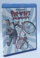 Pee-Wee's Big Adventure (Blu-ray Disc, 2011) NEW
