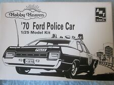 Amt Ertl Hobby Heaven '70 Ford Police Car 1/25 Model