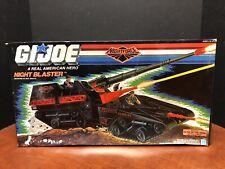 GI Joe 1988 Vintage Night Blaster Complete Never Used Dela0177