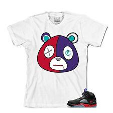 Tee para que coincida con Air Jordan Retro 5 Top 3. e Oso Camiseta Top 3