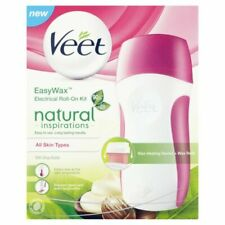 VEET Easy Wax Naturals Electrical Roll-On Kit - 50ml