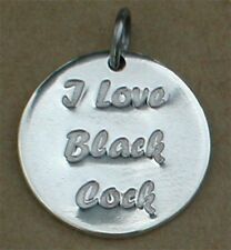 """""""I Love BBC"""" Hot Wife Anklet charm jewelry"""