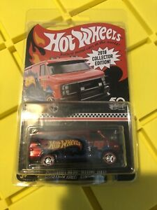 HOT WHEELS Custom GMC Panel Van 2018 RLC Collector Edition Mail Same Day FS