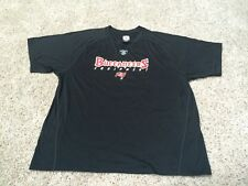 NWOT Tampa Bay Buccaneers NFL Poly Mens XL workout shirt Bucs Football Reebok SS