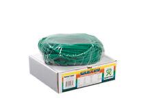 CanDo Low Powder Exercise Tubing-100ft dispenser roll-Green-medium-1323548 NEW