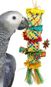 03337 Medium Flower Tower Bird Toy Cage Toys Cages Parrot Chew Foraging Amazon