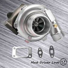 T3/T4 TO4E .57 A/R TURBO TURBOCHARGER T3 4 BOLT FLANGE INLET 5 BOLT DOWNPIPE