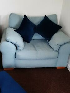 Next Cuddle chair Duck Egg Blue in Excellent Condition
