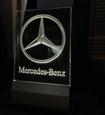 Mercedes Benz Edge Lit LED Sign