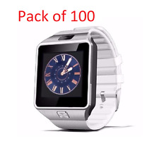 Wholesale DZ09 Smart Bluetooth Watch Phone for Android IOS iPhone 100pcs White