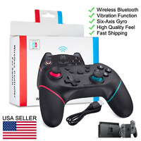 For Nintendo Switch Wireless Pro Controller Gamepad Joypad - Comfortable too!
