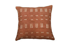 """African Style Mudcloth Cushion Cover 20X20"""" Cushion Case Cotton Rug Pillow Cover"""
