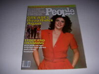 Vintage PEOPLE Magazine, July 16, 1979, STOCKARD CHANNING Cover, GREASE, RIZZO!